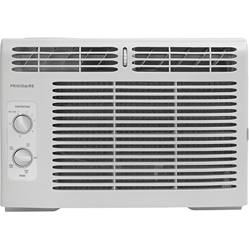 Price comparison product image Frigidaire FFRA0511R1 5,  000 BTU 115V Window-Mounted Mini-Compact Air Conditioner with Mechanical Controls,  15 x 16 x 12 inches
