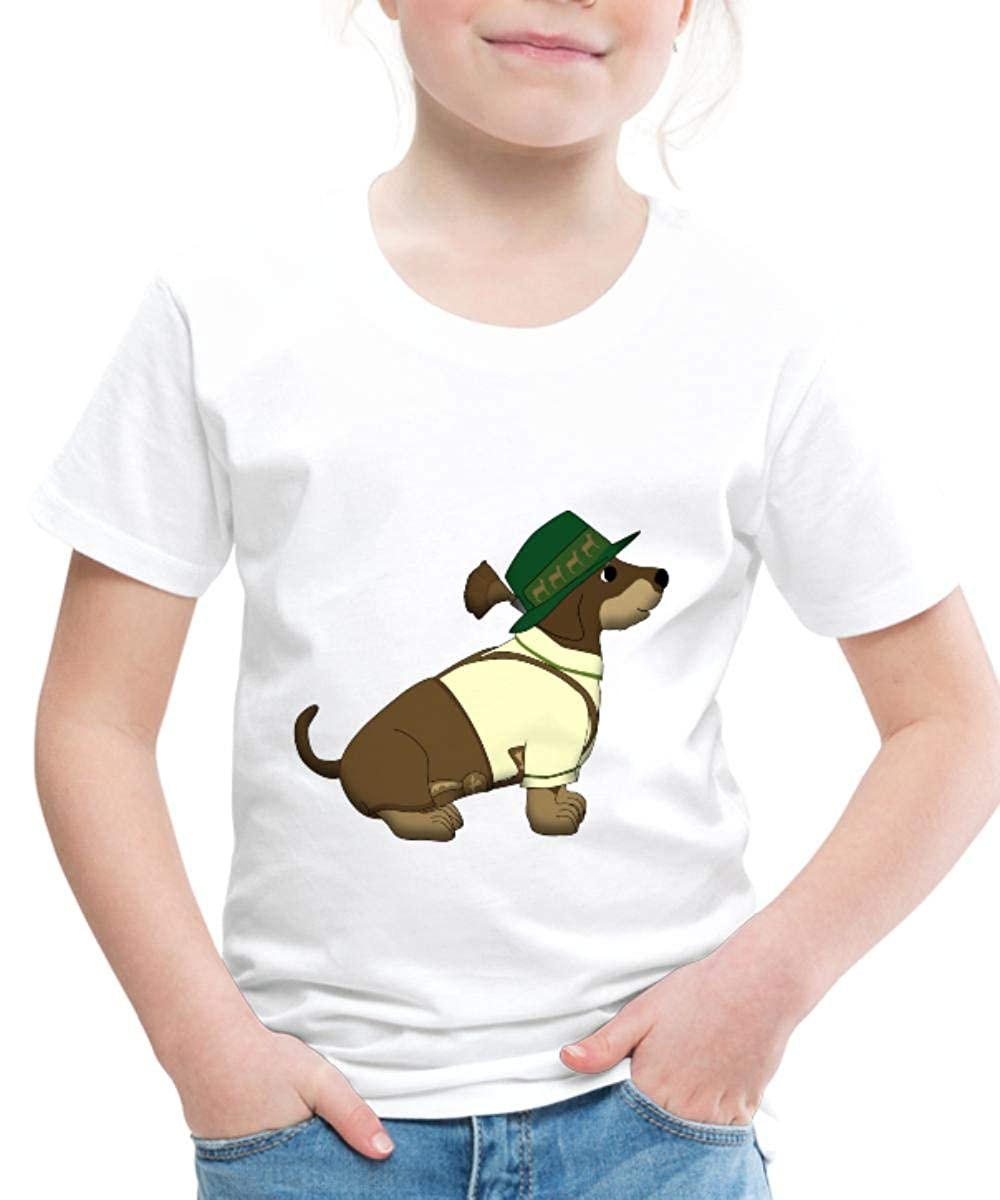 Spreadshirt Bavarian Dachshund Toddler Premium T-Shirt