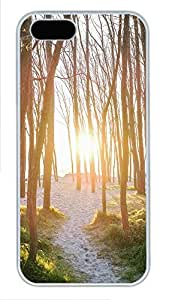 Case For Htc One M9 Cover landscapes nature sun trees 28 PC Custom Case For Htc One M9 Cover Cover White