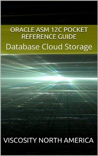 Oracle ASM 12c Pocket Reference Guide: Database Cloud Storage Pdf