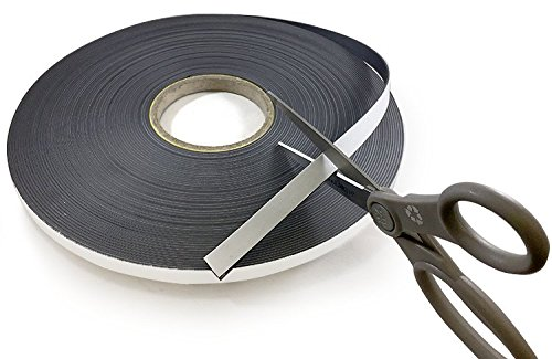 Self Adhesive Flexible Magnetic Tape 100' Length! (1/2