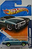 Hot Wheels Compatible Blue 71 Dodge Charger HW 'Muscle Mania 11' Series 1:64 Scale Collectable Die Cast Model Car