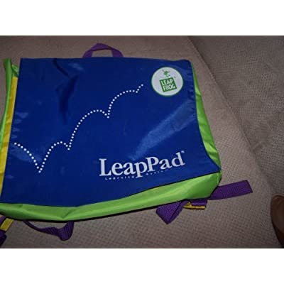 LeapPad BackPack -Blue & Green: Toys & Games