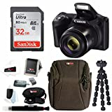 Canon PowerShot SX420 is Digital Camera w/ 32GB SD Card and Focus Accessory Bundle For Sale