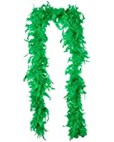 WeGlow International Green Chandelle Feather Boa Costume Accessory Pack of 2