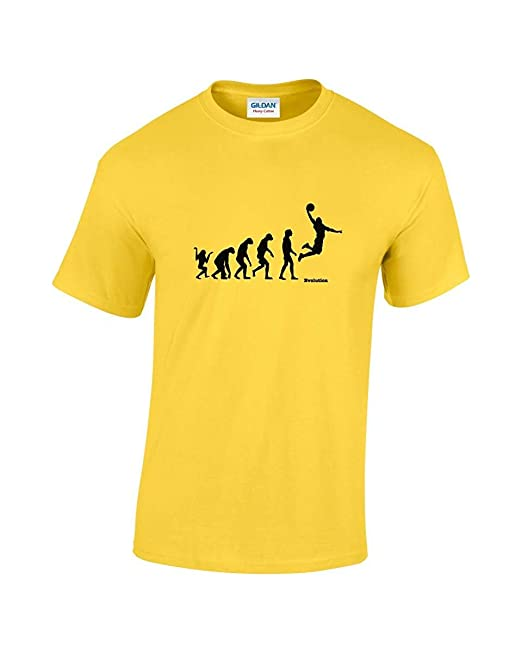 Rinsed Evolution of Man – Camiseta de Baloncesto