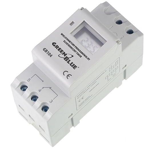 45 opinioni per GreenBlue GB104 Timer Digitale Programmabile sulla Guida DIN