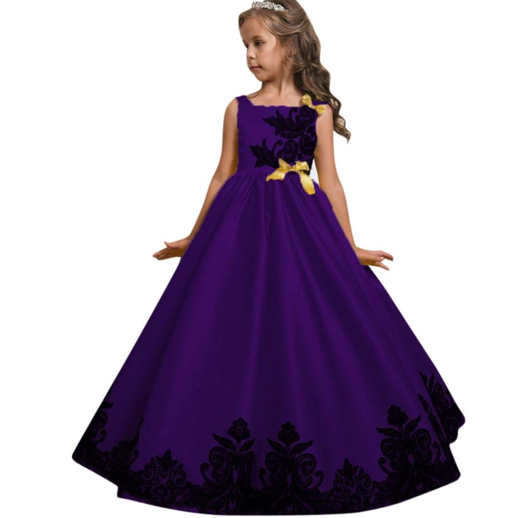 Girl Dresses Formal Occasion Tutu Dresses Flower Girl: Amazon.co.uk ...