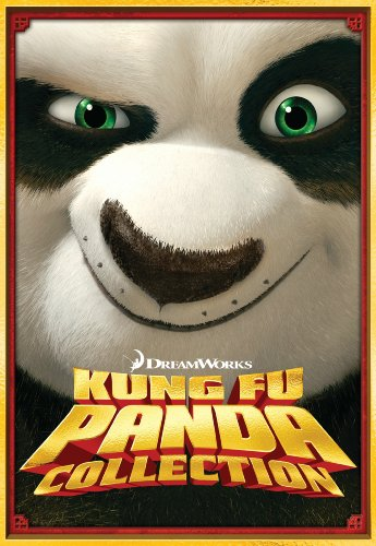 Two Disc Set - Kung Fu Panda Three-Disc DVD Boxed Set (Kung Fu Panda / Kung Fu Panda 2 / Secrets of the Masters)