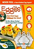 Eggies Hard-Boiled Egg Cooker White
