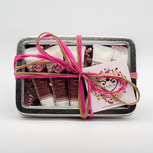JAQUA Beauty Hand Cream Set   Coconut Buttercream Frosting Sweet Mini Hand Cream Gift Set