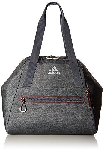 adidas Studio Hybrid Tote Bag, One Size, Onix/Maroon