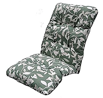 Replacement Deluxe Thick High Back Garden Chair Thick Cushion Pad Ashley Green