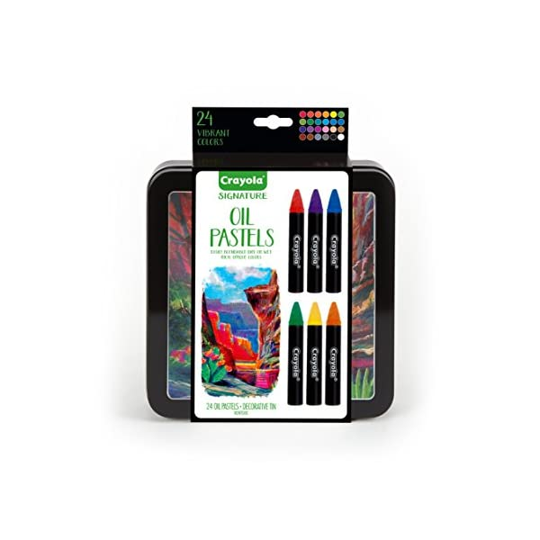 Crayola-Oil-Pastel-Set-with-Decorative-Case-Water-Soluble-Great-For-Watercolor-Effects-24-Colors