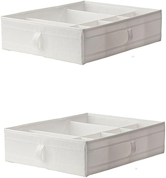 IKEA SKUBB caja con compartimentos, pecho de cajones o armario de almacenamiento unidades de organización para PAX: Amazon.es: Hogar