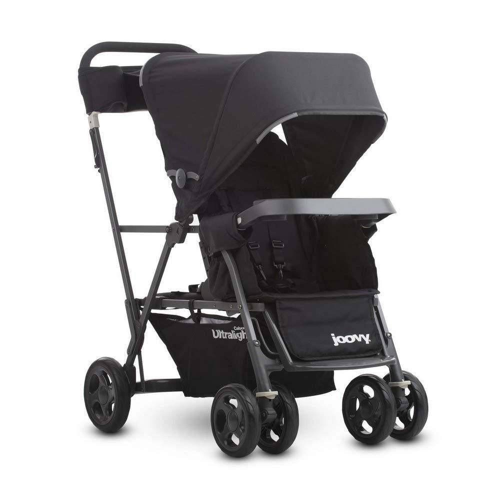Joovy Caboose Ultralight Graphite Stroller, Black by Joovy