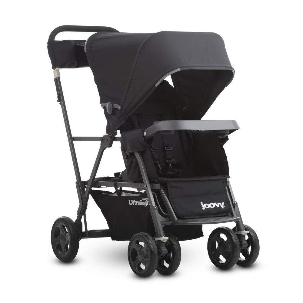 Joovy Caboose Ultralight Graphite Stroller, Black by Joovy (Image #1)