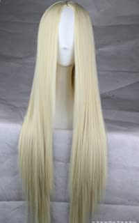 Becca Wig 75 cm largo pelo resistente al calor recta cosplay peluca