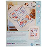 Dimensions Needlecrafts Stamped Cross Stitch, Little Sports Quilt
