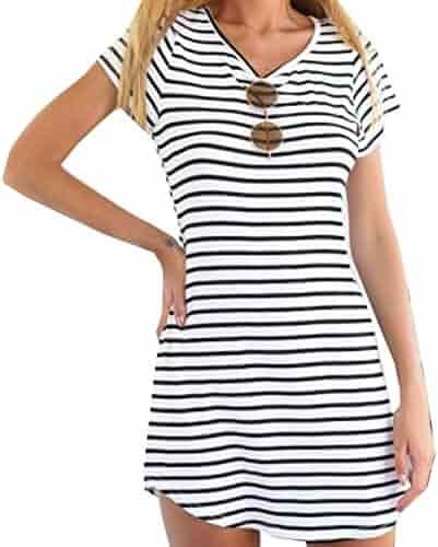 bcf9348bbbf Shopping S - Pattern  3 selected - V-Neck - 1 Star   Up - Dresses ...