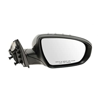 Mirror Power Smooth Black Passenger Side Right RH for Kia Soul New