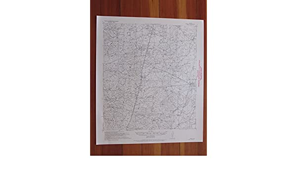 Amazon.com: Webb Texas 1956 Original Vintage USGS Topo Map: Entertainment Collectibles