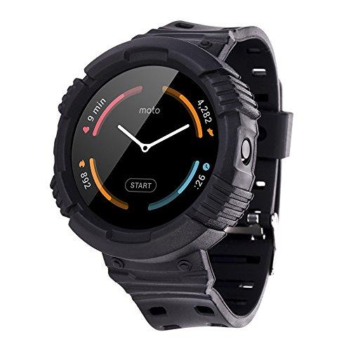 Moretek Protective Motorola Smartwatch Replacement