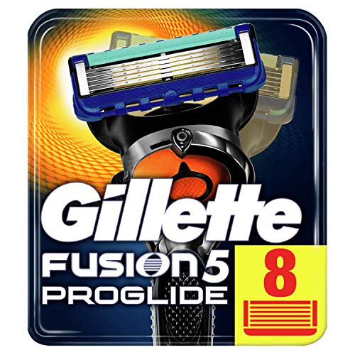Gillette Fusion5 ProGlide Razor Blades for Men, Pack of 8 Refill Blades