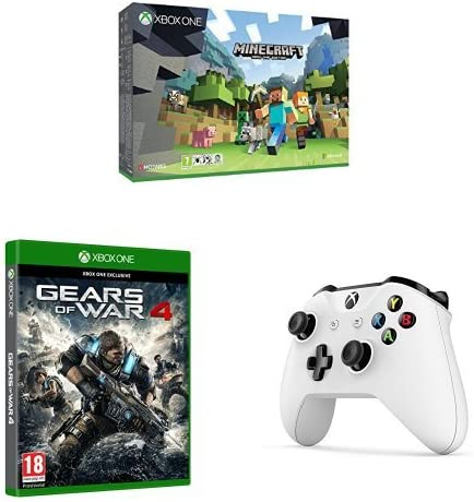 Xbox One - Pack Consola S 500 GB: Minecraft + Gears Of War 4 + ...
