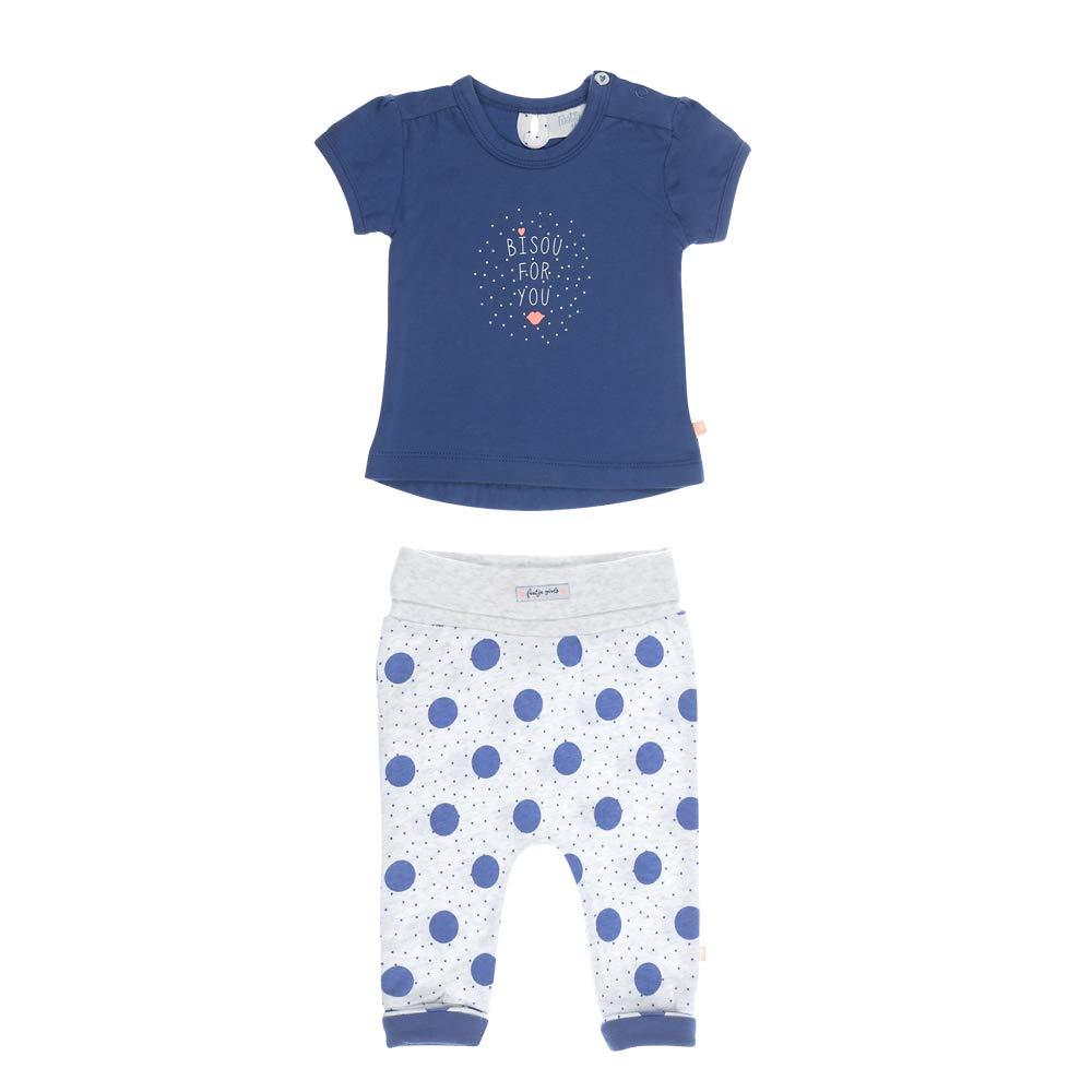Feetje Baby-M/ädchen Set zweiteilig T-Shirt und Sweathose Bisou for You