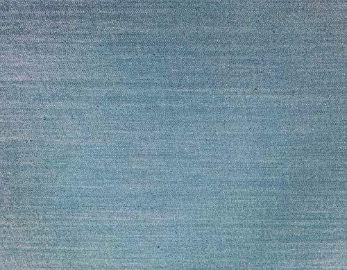D&D Futon Furniture Real Jean Denim Futon Mattress Covers - Mattress Protector Slipcovers (Light Blue Denim, Queen Size)
