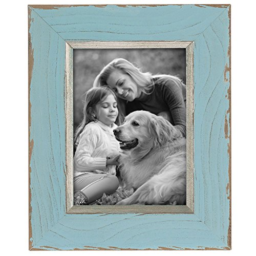 Foreside Home & Garden FFRD06135 5X7 Lafayette Distress Frame Aqua from Foreside Home and Garden