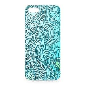 Waves iPhone 5s 3D wrap around Case - Design 5