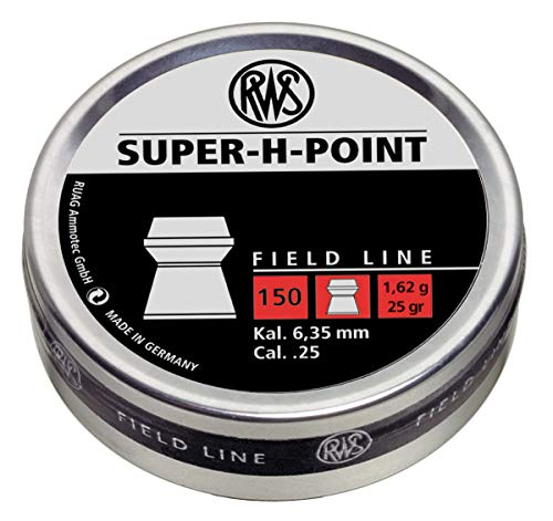 RWS Super H Point 2317383 Field Line Air Gun Pellets 25.0 Gr