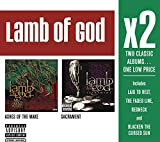 X2 (Ashes Of The Wake / Sacrament) by Lamb of God (2011-08-29)