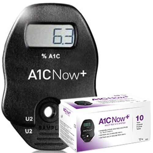 A1cNow+ Monitor Plus 10 tests by A1CNow+