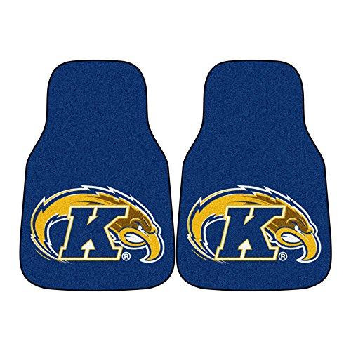 (FANMATS NCAA Kent State University Golden Flashes Nylon Face Carpet Car Mat)