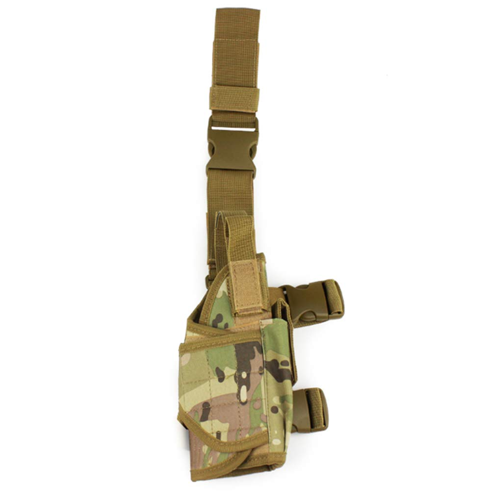 New Tactical Drop Leg Holster Mag Pouch Fields Holster Airsoft Camouflage Bags