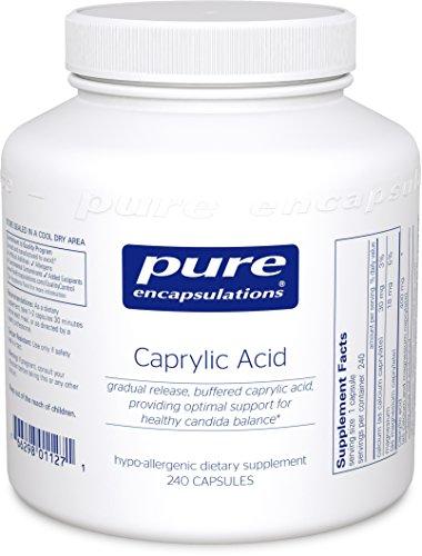 Pure Encapsulations Caprylic Providing Microbial