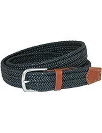Men's Boca Braided Waxed Cotton Stretch Belt