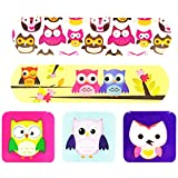 Cute Cartoon First Aid Bandages Bandaging Supplies Band Aids- Owl