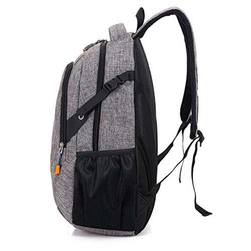 Männliche Und Weibliche Studenten Paket Urlaubsreise Mit Großer Kapazität Rucksack Computer Rucksack,Black Brown