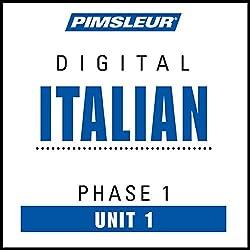 Italian Phase 1, Unit 01
