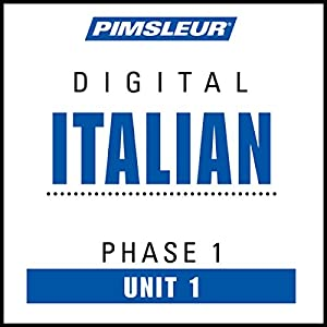 Italian Phase 1, Unit 01 Hörbuch