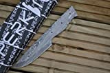 Sale – Damascus Steel Blade for Making Your Own Hunting Knife Review