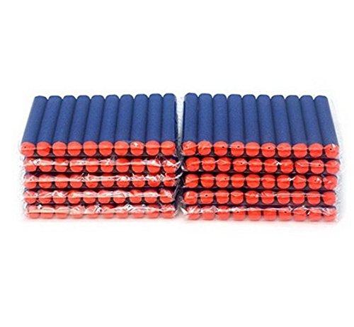 Soft Darts for Nerf N-Strike Elite Dart , 200pcs 7.2cm Refill Darts for Nerf N-strike Elite Series Blasters Toy gun