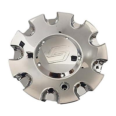 Sacchi Wheels C1029501-CAP Chrome Wheel Center Cap: Automotive