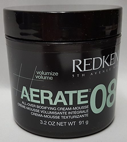 Redken Aerate 08 Bodifying Cream-Mousse (Quantity of 3) by REDKEN by Redken
