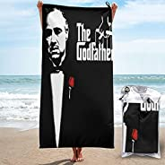 SuperWW The Godfather Microfiber Quick Dry Towel for Beach, Workout, Yoga, Backpacking,Spa,Swim,Hiking and Hom