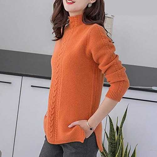 Lunga Orange Dissa Maglione Donna Manica 4gxTqEwp